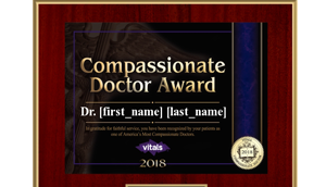 Compassionate Doctor 2018