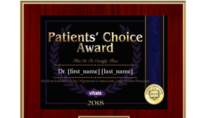 Patients' Choice 2018